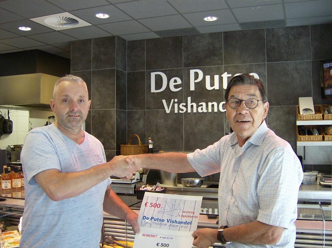 sponsors vishandel Putte